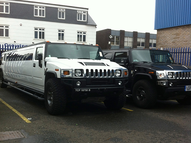 White-16-Seater-Hummer