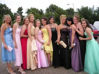Pink Limo Hire And School Prom Car Hire Kent Sussex